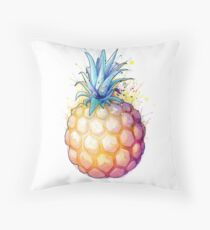 Fat Pineapple 2 Throw Pillow