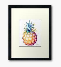 Fat Pineapple 2 Framed Print