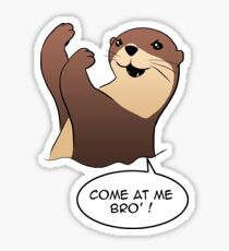 loutre come at me bro Sticker