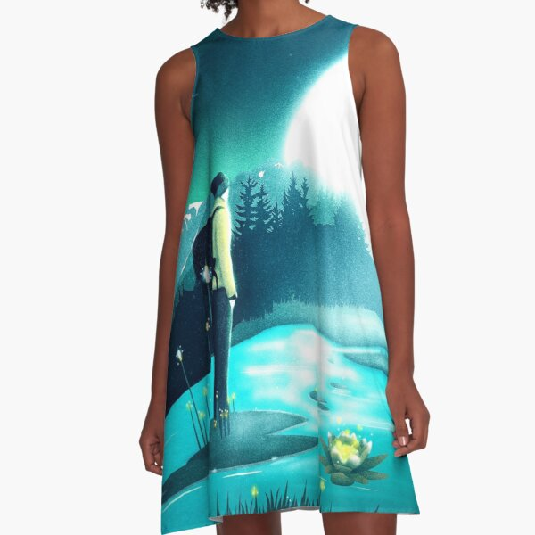 Lost in the Moment A-Linien Kleid