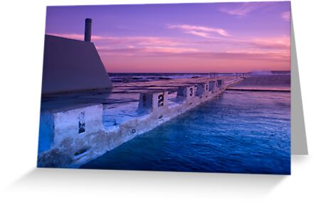 {Newcastle Ocean Baths} by Naomi Frost