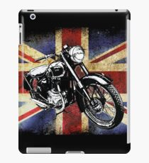 Classic BSA Motorcycle by Patjila iPad Case/Skin
