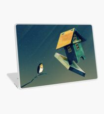 Flying Bird...house Laptop Skin