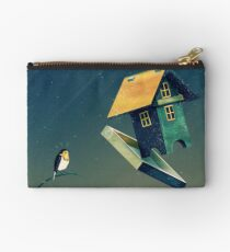 Flying Bird...house Studio Pouch