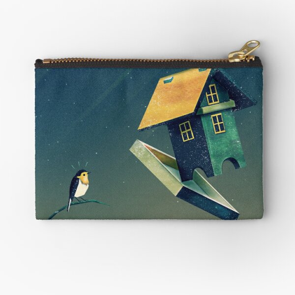 Flying Bird...house Täschchen