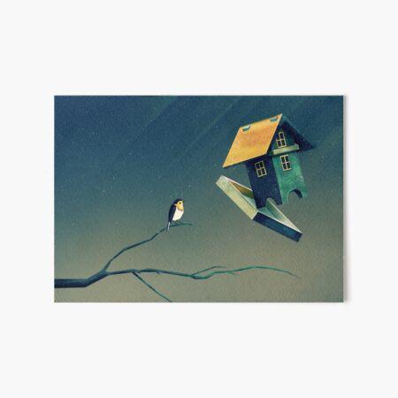 Flying Bird...house Galeriedruck