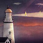 Sea of Light by schwebewesen