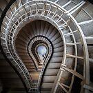 Stair Case - Prague - Praha by Igli Martini Kocibelli