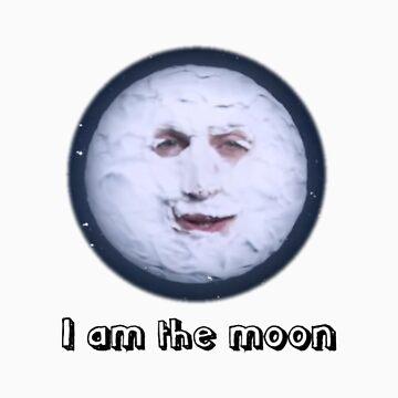 I Am The Moon by lukeshirt