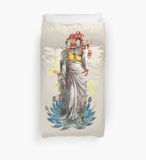 The Blossoming of Venus Duvet Cover
