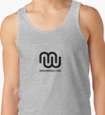 MeshMinds - Black Tank Top