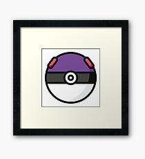 Pokemon Fan Logo Framed Print
