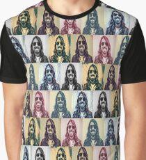 Tiled Foo Graphic T-Shirt