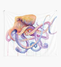 Octopus II Wall Tapestry