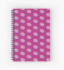 MeshMinds - Gradient Spiral Notebook