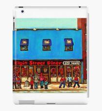 OTTAWA PAINTINGS OTTAWA ART OTTAWA DELIS ELGIN STREET DELI IN OTTAWA iPad Case/Skin