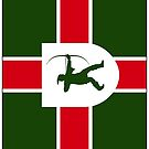 Nottinghamshire Flag Phone Cases by mpodger