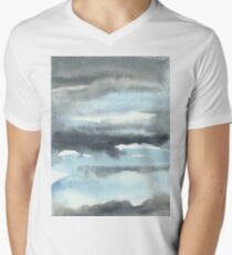 Cloud Cover Watercolor Painting T-Shirt