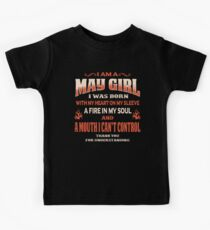 May Birthday Gift For Girl Born With Heart On Sleeve Kids Clothes