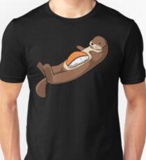 Loutre sushi Unisex T-Shirt