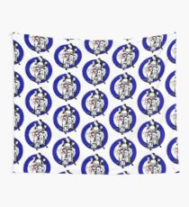 Jimmy The Mod Target Wall Tapestry