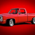 1973 Chevrolet C10 Pickup Truck by DaveKoontz