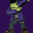 «Dabbing Frankenstein» de vomaria
