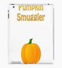 Pumpkin Smuggler Halloween Maternity Shirt iPad Case/Skin