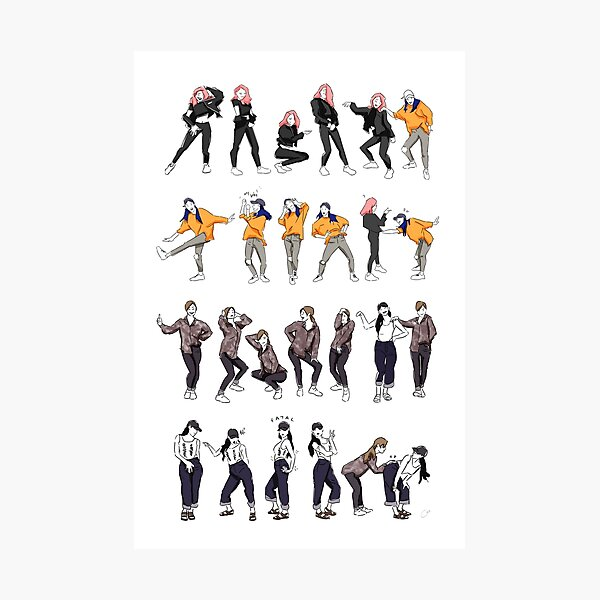 Yes I Am (dance highlight) Photographic Print
