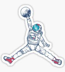 Space Jordan Sticker