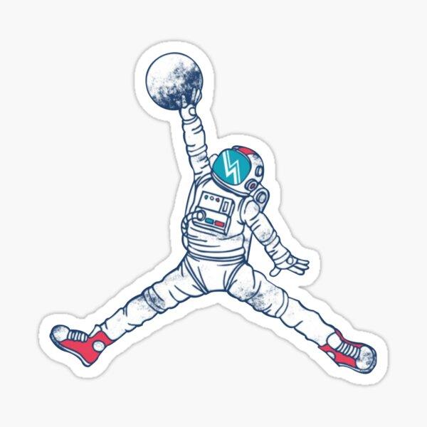 Space Jordan Pegatina