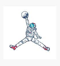 Space Jordan Photographic Print
