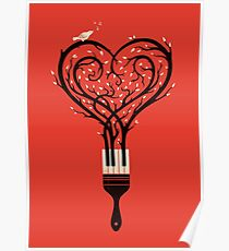 Paint your love song Poster