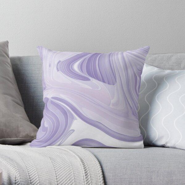 accesorios de moda remolinos púrpura lila Cojín