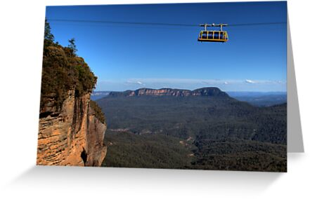 Hanging around skyway blue mountains australia greeting cards by hanging around skyway blue mountains australia by davidiori m4hsunfo