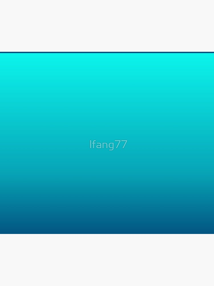summer beach chic abstract teal blue turquoise ombre  by lfang77