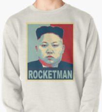 Rocketman vs Dotard Trump Kim Jong Un Hope Poster Design  Pullover