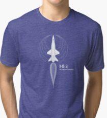 X-15 - The Original Spaceplane Tri-blend T-Shirt