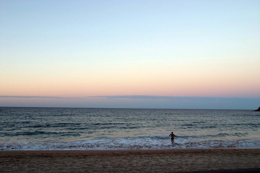 Winter Swim by Petey