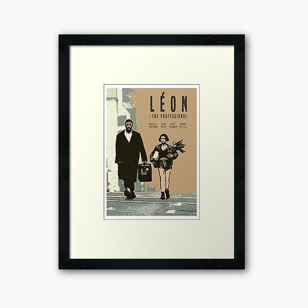 Léon Retro movie Imprimer Impression encadrée