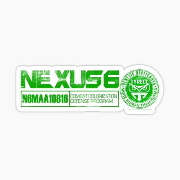 Blade Runner Nexus 6 Sticker