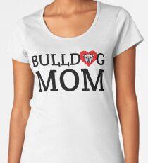 English Bulldog Mom Women's Premium T-Shirt