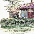 The Altona Homestead - Victoria, Australia by © Helen Chierego