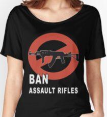 Ban Assault Rifles Gun Control T-shirt Women's Relaxed Fit T-Shirt