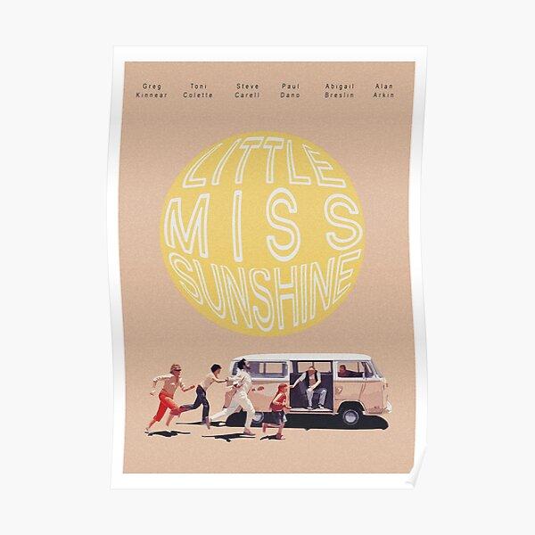 Impression de film Retro Little Miss Sunshine Poster
