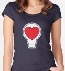 Let Love Light The Way ... Women's Fitted Scoop T-Shirt
