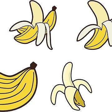 Bananas. by Claudiocmb