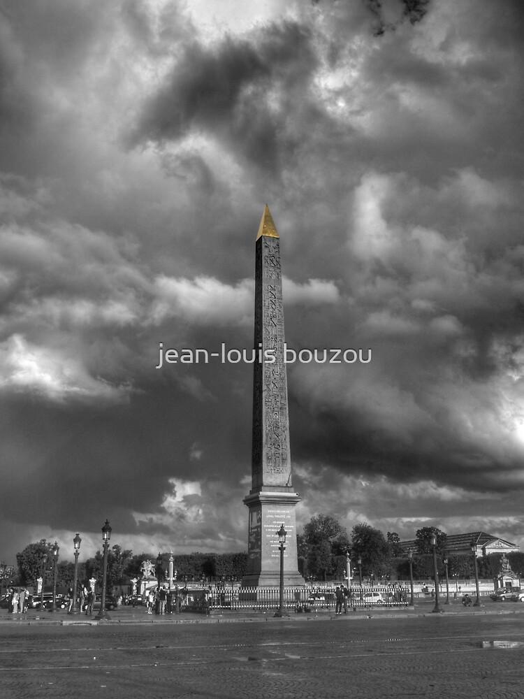The obelisk... by jean-louis bouzou