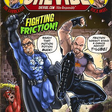 SheVibe Presents Fighting Friction With The Lubricator & Buck Angel - Cover Art by shevibe