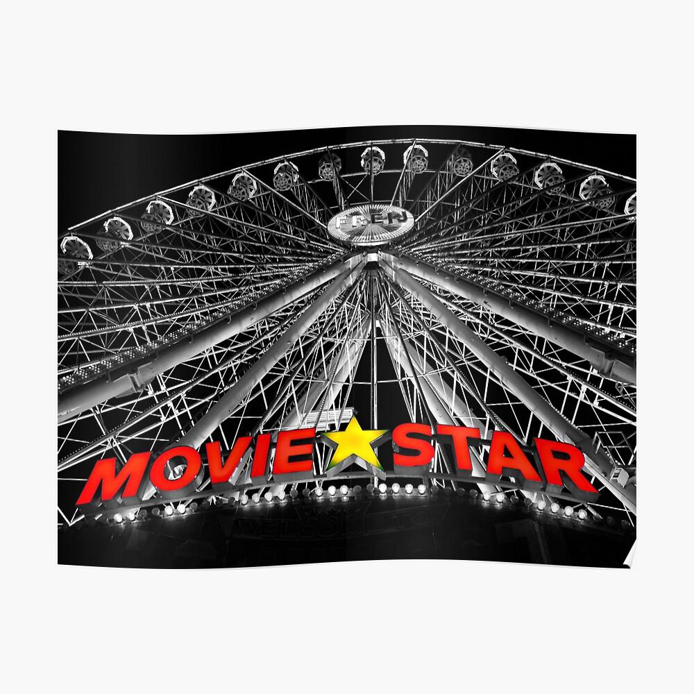 Movie Star Poster